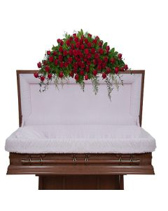 Royal Rose Casket Spray